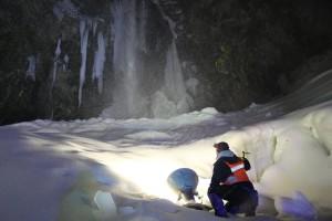 平湯大滝結氷まつり