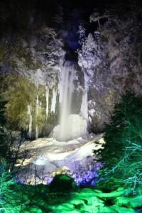 平湯大滝結氷まつり2