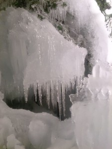氷の散歩道ライトアップ